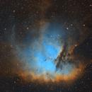 Pacman Nebula,                                Chris