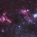 Emission Nebula In LMC (RGBHaOIII),                                astro_m