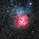 M20 Trifid Nebula,                                Stargazer_Ken