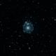 ngc6543 (Cat's eye planetary nebula) HOO,                                *philippe Gilberton