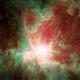 Orion Nebula Animation - Infrared vs Optical - Spitzer Space Telescope Tribute,                                Orestis Pavlou