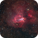 M17 Omega nebula,                                Giovanni Paglioli