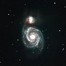 M51 Whirlpool galaxy HaGB,                                Hornisse