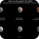 Mars on December 30, 2020 (OSC RGB and IR) - My Last Mars of the 2020 Apparition,                                JDJ