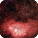 Messier 8 and Messier 20,                                stargazerheide