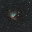 NGC281-Ha-SHO (modified)- new processing,                                Adel Kildeev