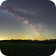 Milkyway arch over field,                                Jan Veleba