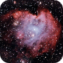 NGC-2174, The Monkey Head Nebula,                                Eddie Hunnell