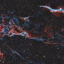 Mosaic of NGC 6960 - The Western Veil Nebula,                                Sektor