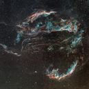 Cygnus Loop in OSH,                                David Lindemann