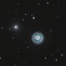 NGC 2392, Eskimo Nebula at 2,2 mt of... focal length!!,                                Aurelio55