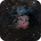 M20 - The Trifid Nebula,                                Gordon Hansen