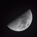 Premier quartier de la Lune 18122015,                                Stardust24