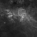 NGC 3576 Ha,                                Colin