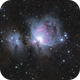 M42 Orion Nebula,                                Hubble_Trouble