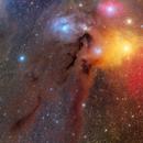 Rho Ophiuchi Nebula 6-Panel Mosaic,                                Byoungjun Jeong