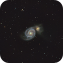 M51, The Whirlpool Galaxy,                                Bob Rucker