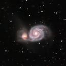 M51 -  Whirlpool Galaxy,                                Yannick Akar