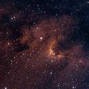 Cave Nebula - SH2-155,                                Tullio Di Primio