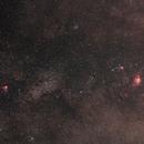 Nebulose Aquila, Omega, Trifida e Laguna,                                Giorgio Viavattene