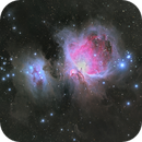M42, NGC1975 Orion Nebula & Running Man  4 panel Mosaic,                                Matthew Chan