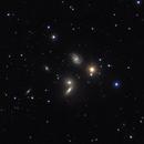 NGC 5353 & HGC68 Galaxy Field -- LRGB,                                Mike Mulcahy