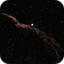 """Western Veil (NGC 6960, """"Witch's Broom""""), narrowband,                                Don Holmgren"""