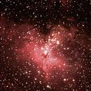M16 - Nebulosa da águia,                                Irineu Felippe de Abreu Filho