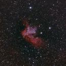 NGC 7380 Wizard Nebula- ASI1600MC-C First Light,                                Craig Kensler
