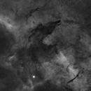Howling Wolf SL17 Nebula in HA,                                Matt Hughes