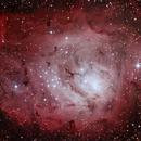 Lagoon Nebula- M8- First Edit,                                Andre