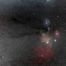 Rho Ophiuchus Nebula Widefield,                                Scott Denning