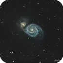 M51 Galaxie du Tourbillon,                                COLEGNO