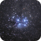 M45 totally processed using the DSLR-LLRGB method,                                ctron