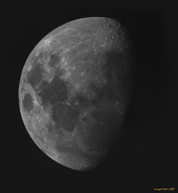 Mosaique de la Lune,                                LAMAGAT Frederic