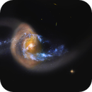 NCG 7714 - Spirial Galaxy, Hubble Space Telescope,                                Rudy Pohl
