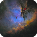 NGC281 - The Pacman Nebula,                                Jason Guenzel