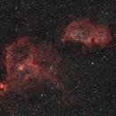 Heart and Soul Nebula,                                Marzio Bambini