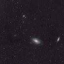 Galaxies M81 & M82,                                canatophe