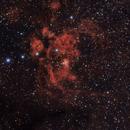NGC 6357 - Lobster Nebula,                                Augusto Ornellas