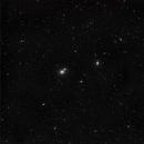 M58, 59 and 60 - Galaxies in Virgo,                                Michael J. Mangieri