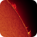 Sun H Alpha Proms on 2021-06-03 10:58 UTC,                                Ruediger