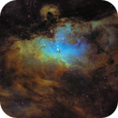 Eagle 𝐍ebula 𝐌 𝟏𝟔 | Hubble Palette,                                Luca Fornaciari