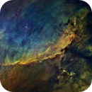 IC4628 - Prawn and ET in HST palette,                                John Ebersole