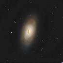 M64 Galaxy, a LUM, Color image, CPH, Denmark,                                Niels V. Christensen