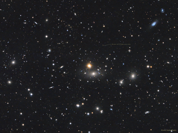 Galaxy cluster Abell 1314. There is much more distant things,                                Simas Šatkauskas