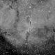 First Mono Light - IC1396 - Elephant's Trunk in Ha,                                SoDakAstronomyNut