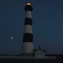 The Moon – Bodie Lighthouse – Jupiter,                                Van H. McComas