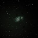 Whirlpool Galaxy,                                Michael Laferriere