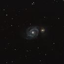Messier 51, Whirlpool Galaxy,                                Andrew Burwell